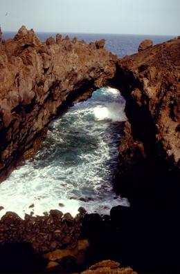 Felsen an der Südküste von Lanzarote
