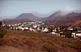 Der Ort Haria auf Lanzarote