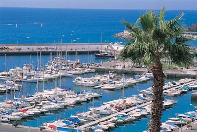 hafen puerto rico gran canaria